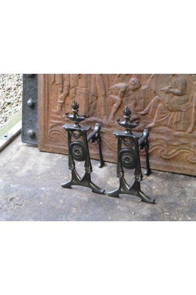 Soporte para utensilios chimeneas (de hierro fundido)