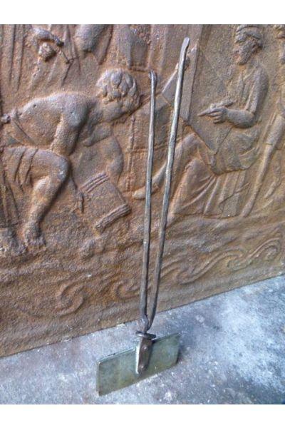 Antiguo hierro de la galleta (hierro forjado y latón)