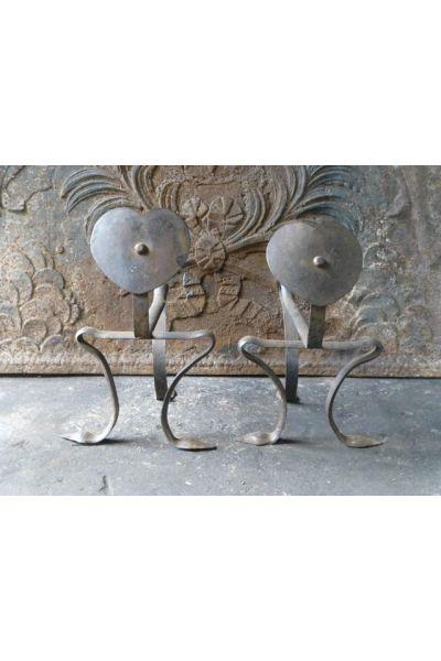 Soporte para utensilios chimeneas (hierro forjado)