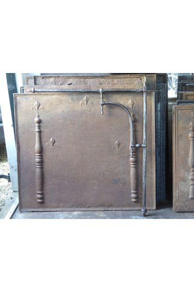 Hermosa repisa para chimenea (hierro forjado)