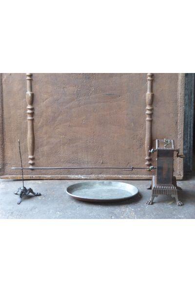 Grill Antiguo de Chimenea