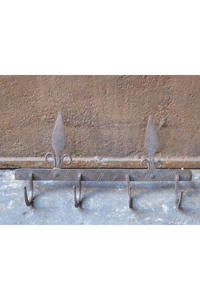 Ganchos Antiguos para Herramientas de Chimenea