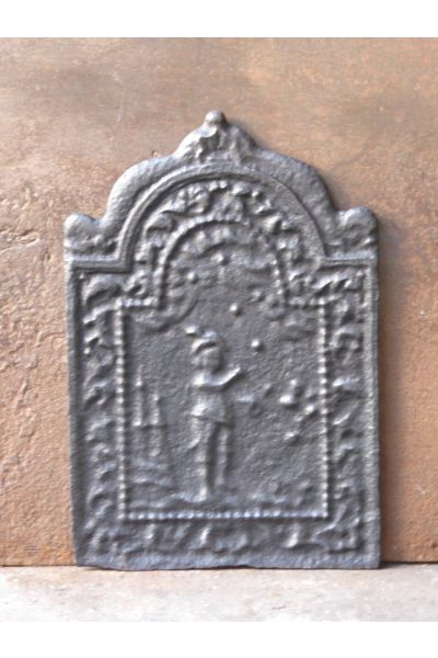 Placa Chimenea Luis XIV