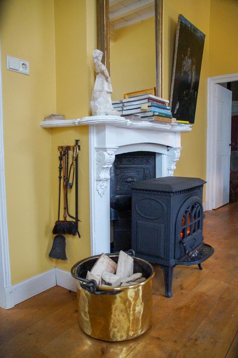 Accesorios de chimenea para la estufa de leña
