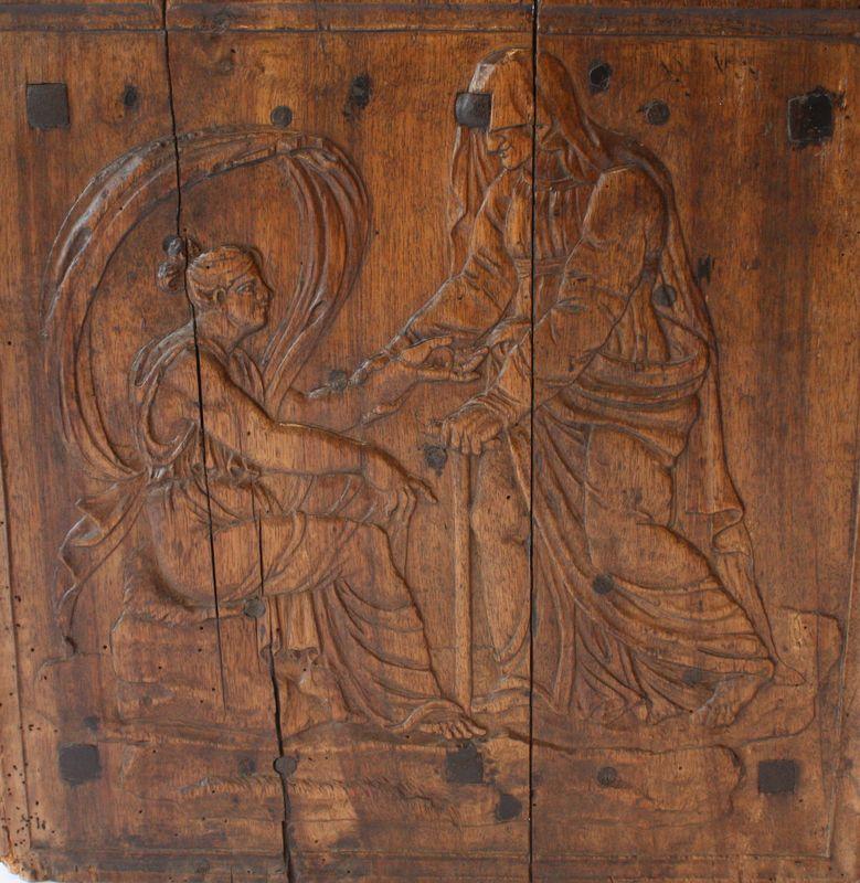 Los moldes de madera originales placa chimenea