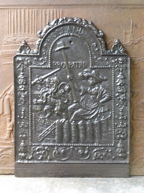 Placa chimenea Pro Patria