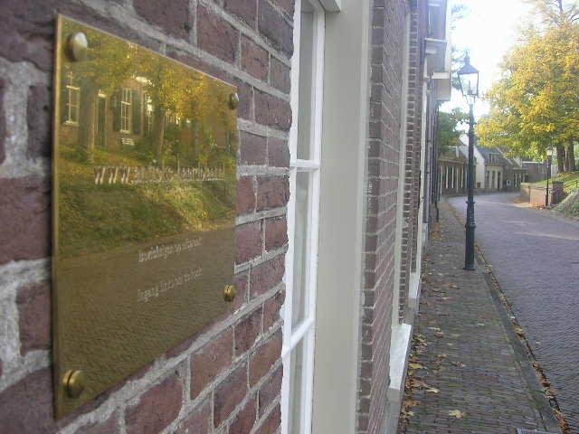 Placas de chimenea antiguas en Amerongen