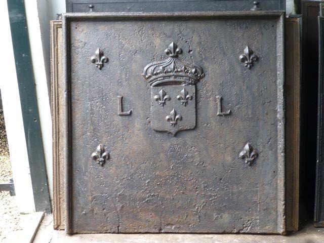 Louis XIV haardplaat