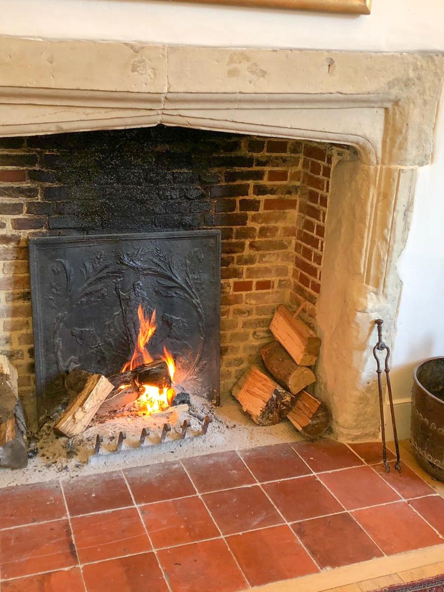 Chimeneas a Casa Histórica Hertfordshire
